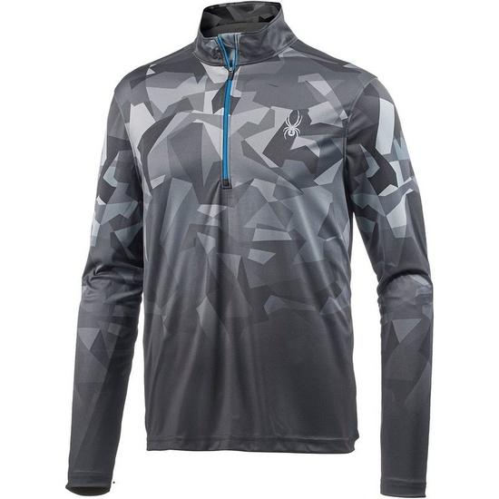 Turtleneck Spyder Men's Limitless 1/4 Zipper Dry WEB T-Neck 417068-015