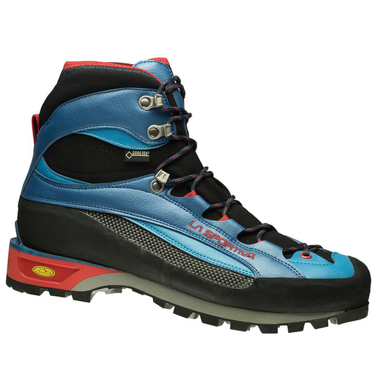 Shoes La Sportiva Trango Guide Evo GTX Men Blue / Flame
