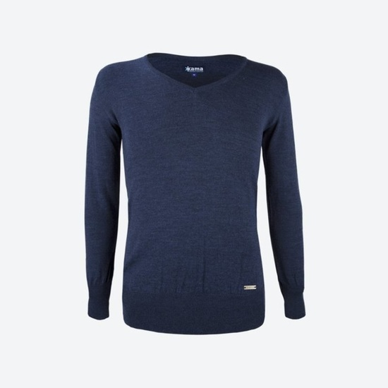 Knitted Merino sweater Kama 5103 108