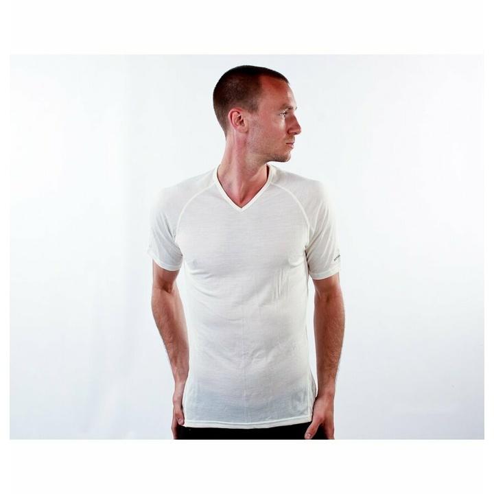 Men's T-shirt Devold Breeze Man T-shirt GO 180 211 A 000A white