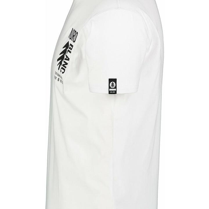 Men's cotton shirt Nordblanc SARMY white NBSMT7390_BLA