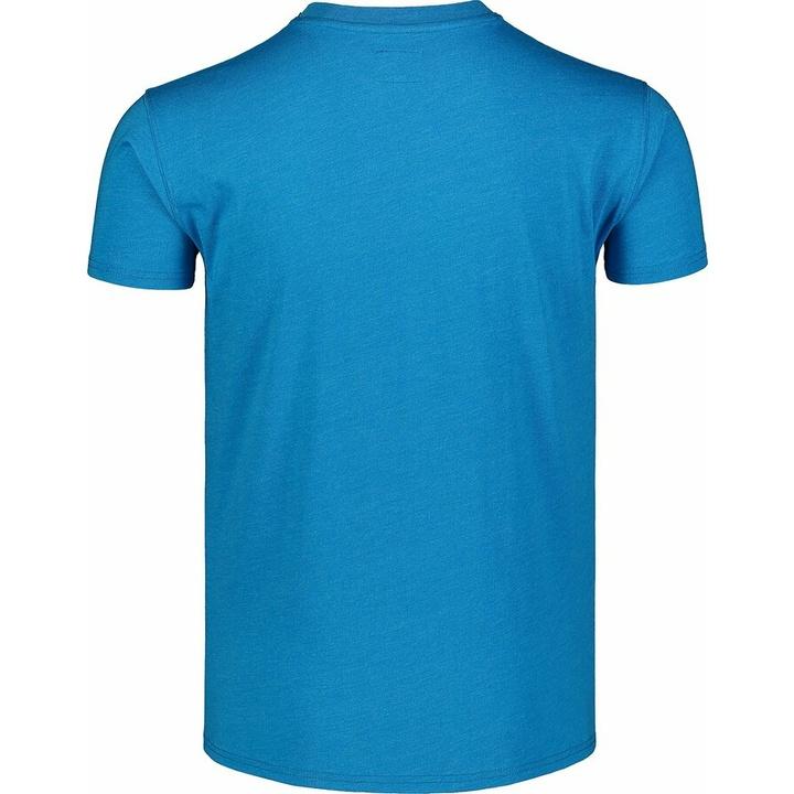 Men's cotton shirt Nordblanc WAL LON blue NBSMT7391_AZR