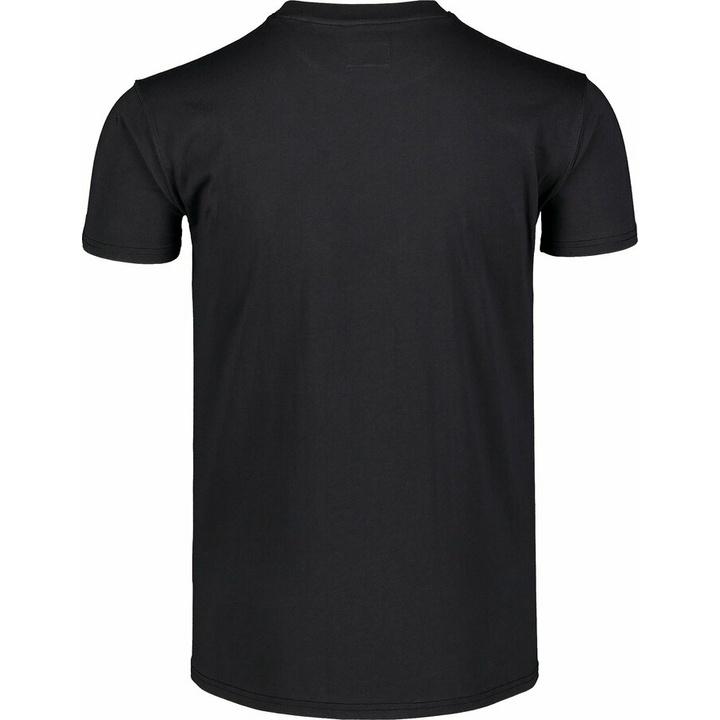 Men's cotton shirt Nordblanc WAL LON black NBSMT7391_CRN