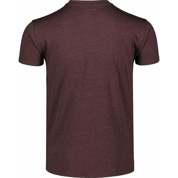 Men's cotton shirt Nordblanc TRICOLOR brown NBSMT7397_RUH