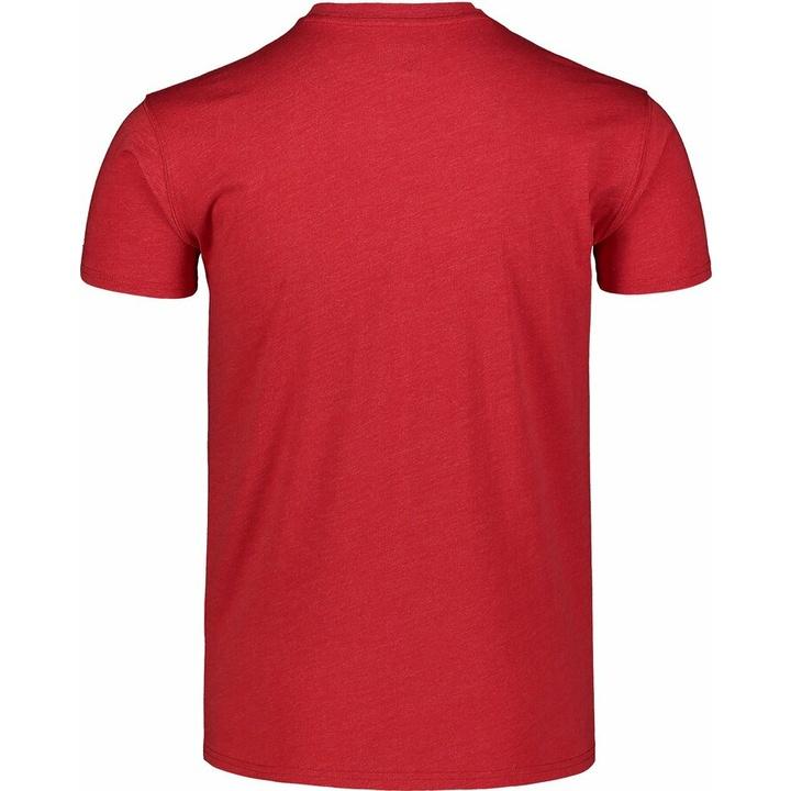 Men's cotton shirt Nordblanc TRICOLOR red NBSMT7397_TCV