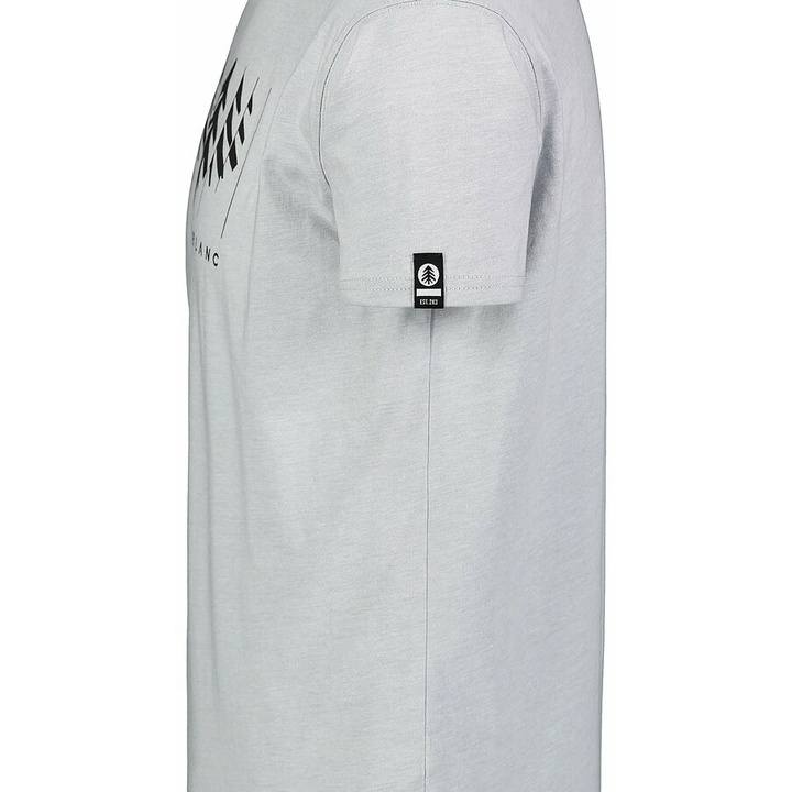 Men's cotton shirt Nordblanc DECONSTRUCTED gray NBSMT7398_SSM