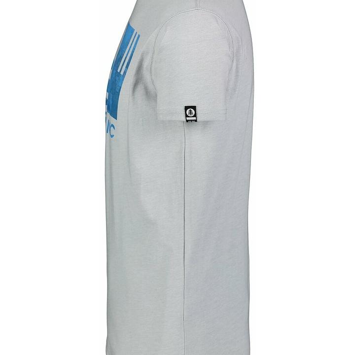 Men's cotton shirt Nordblanc TREETOP gray NBSMT7399_SSM