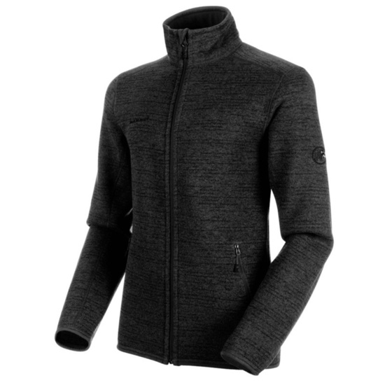 Men hoodie Mammut Arctic ML Jacket Men phantom black melange 00162