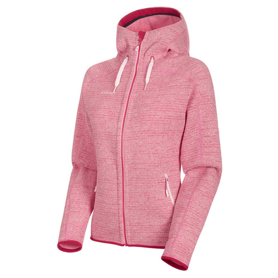 Women hoodie Mammut Arctic ML Hooded Jacket Women blush dragon fruit melange 3554 (1014-15703)