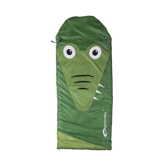 Children sleeping bag Spokey SLEPPYZOO Alligator