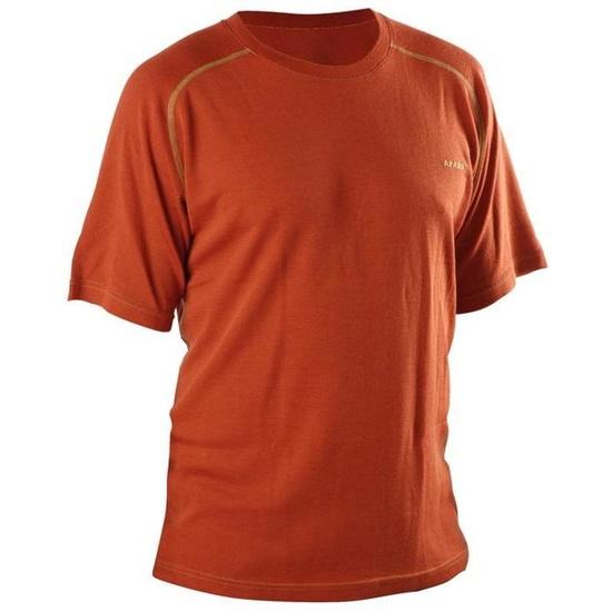 T-Shirt AFARS Merino short sleeve Orange