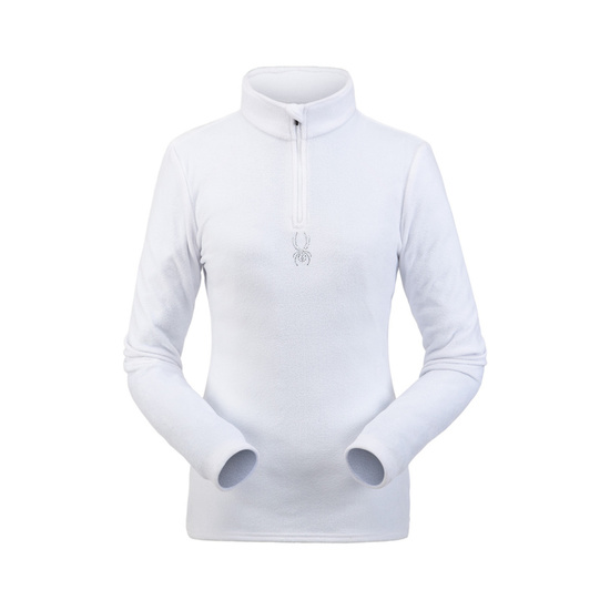 Turtleneck Spyder Women's Shimmer Bug Velour Fleece T-Neck 194091-100