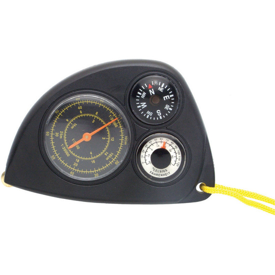 Meter distance in maps, compass Baladéo PLR011