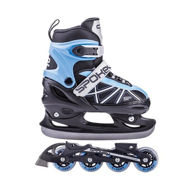 Skates winter I summer Spokey ZOOL adjustable, blue