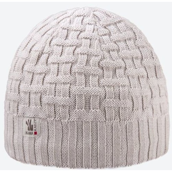 Knitted Merino cap Kama A112 112