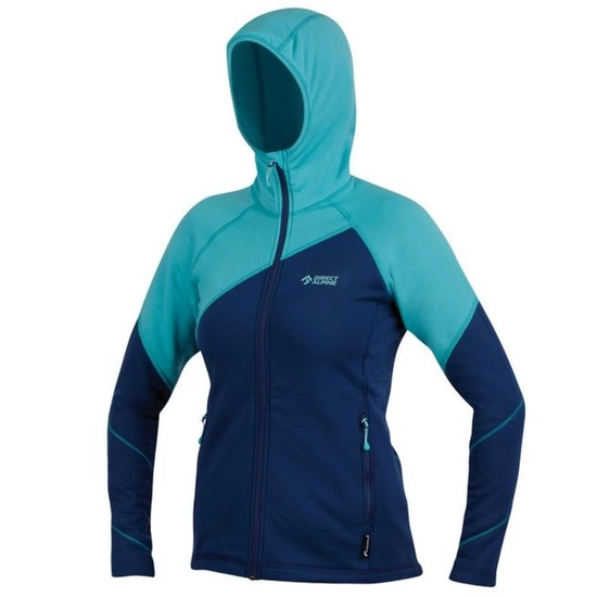 Sweatshirt Direct Alpine Eira Lady petrol / menthol