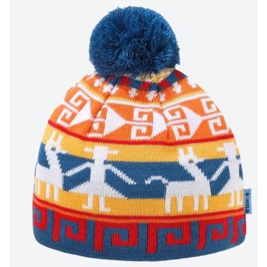 Children knitted Merino cap Kama B81 107
