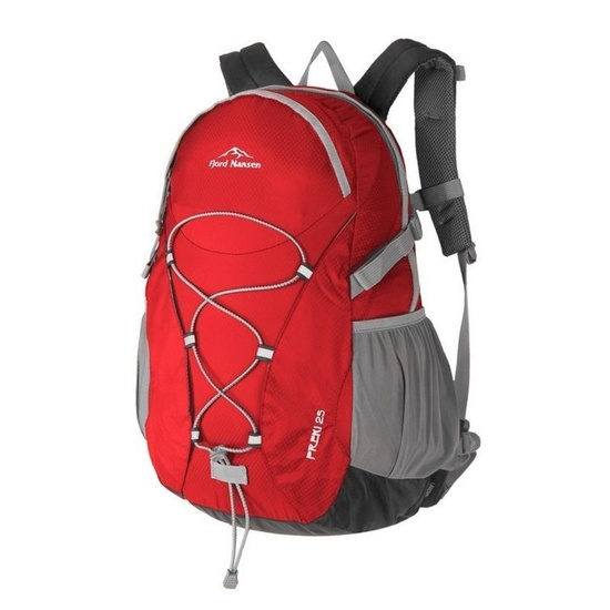 Backpack Fjord Nansen Freki 25l red 44376