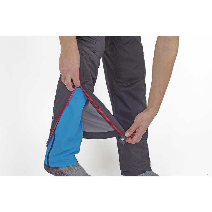 Waterproof trousers Direct Alpine Cyclone black/brick