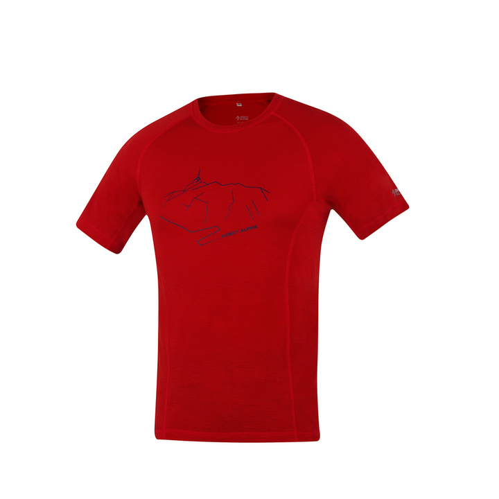 T-Shirt functional Direct Alpine Furry brick (peak)
