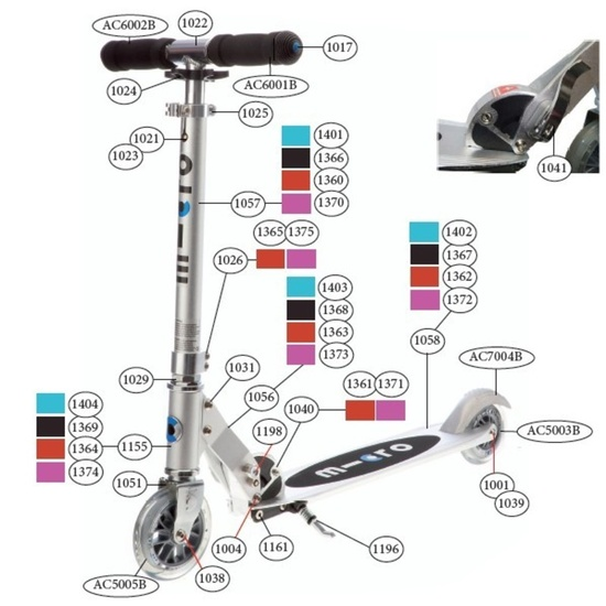 Scooter Micro Sprite
