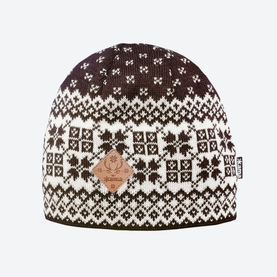 Knitted Merino cap Kama LA40 113