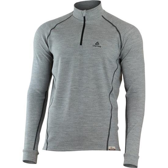 Merino Sweatshirt Lasting WIL L 8490 grey