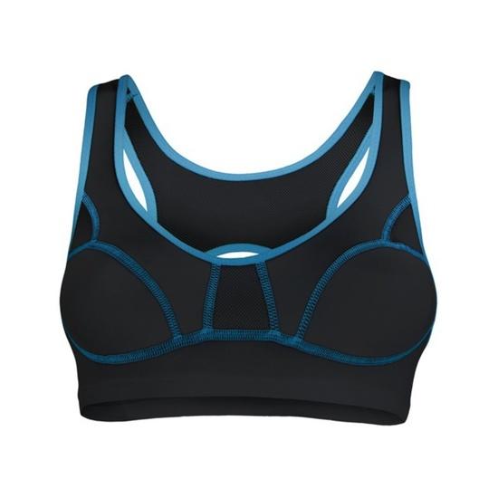 Women bra Sensor Lissa black / blue 1065533-33