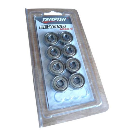 Set Bearings Tempish ABEC 9 chrome top speed (8 pc)