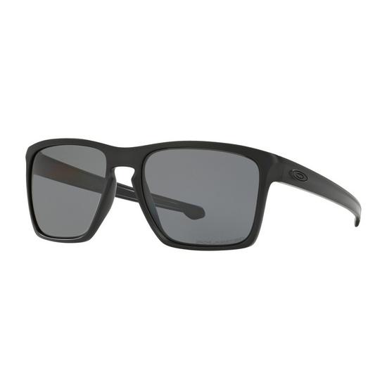 19cf8a225f1 (Sold out) Sun glasses OAKLEY Sliver XL Matt Black w   gray Polarized  OO9341-01