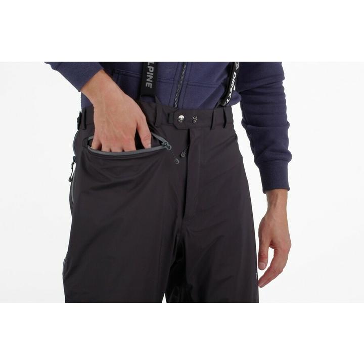 Waterproof men's trousers Direct Alpine Midi short black