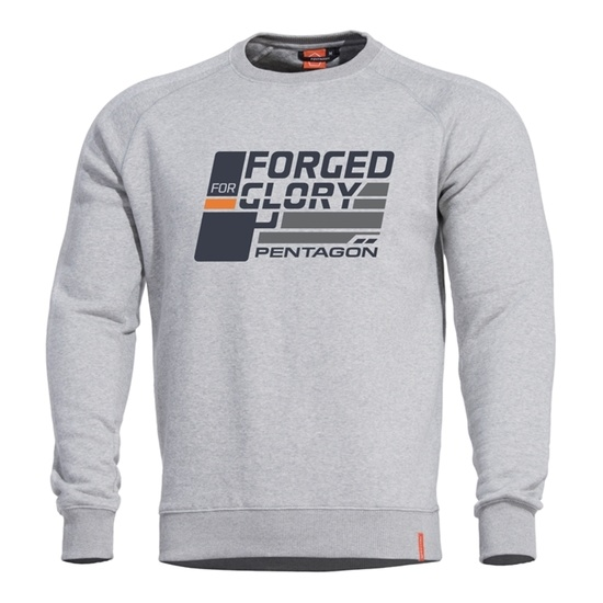 Sweatshirt PENTAGON® Hawk Forged for Glory grey