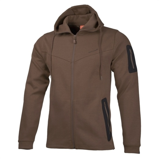 Sweatshirt with hood PENTAGON® Pentathlon brown