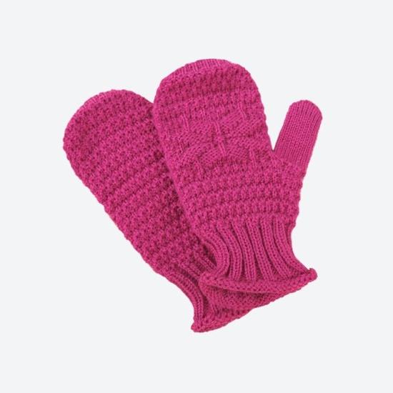 Children knitted Merino gloves Kama RB206 114