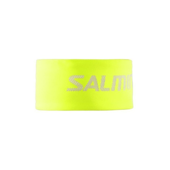 Headband SALMING Run Thermal Headband Safety Yellow