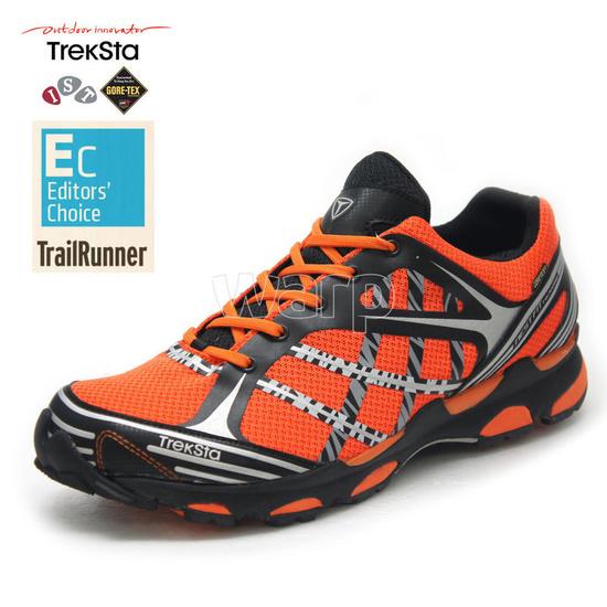 Shoes Treksta Sync GTX woman black / orange