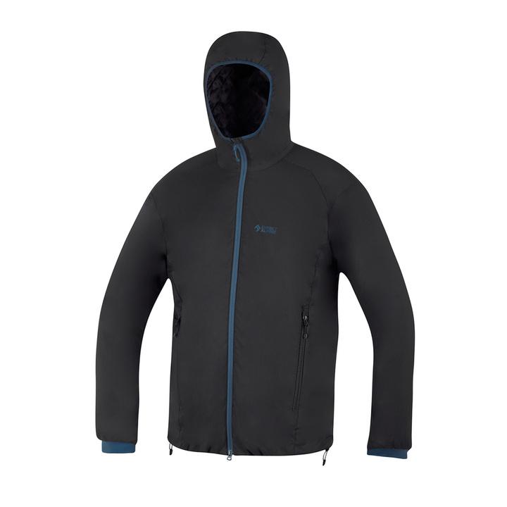Jacket Direct Alpine feather Uniq black / petrol