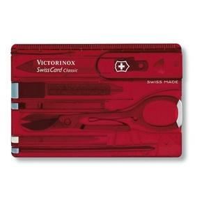 Knife Victorinox SwissCard Classic 0.7100.T, Victorinox