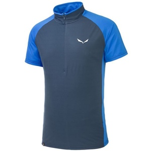 T-Shirt Salewa PEDROC PTX / DRY M S/S HALF-ZIP TEE 26288-8671, Salewa