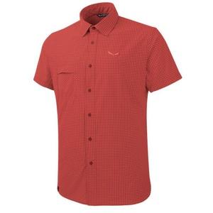 Shirts Salewa Fanes Puez MINI CHECK DRY M S/S SHIRT 26587-1644, Salewa