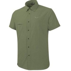 Shirts Salewa Fanes Puez MINI CHECK DRY M S/S SHIRT 26587-5758, Salewa