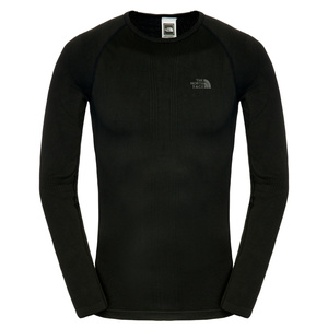 T-Shirt The North Face M HYBRID L/S CREW NECK C206JK3, The North Face