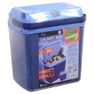 Cooling box with heating Compass 25l BLUE 230/12V display with temperature, Compass