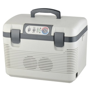Cooling box Compass 19l + display 230V/24V/12V DOUBLE, Compass