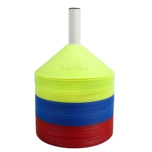 Marking cones Select Marker set 48 pc including of the holder red yellow, Select