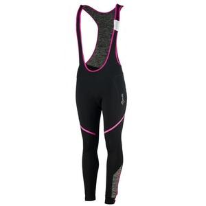 Women cycling pants Rogelli Carou, 010.239. black-gray-pink, Rogelli