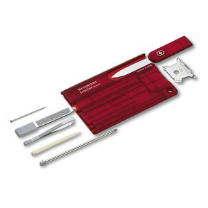 Knife Victorinox SwissCard Quattro 0.7200.T, Victorinox