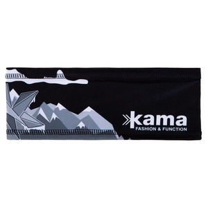 Running headband Kama C37 110 black, Kama