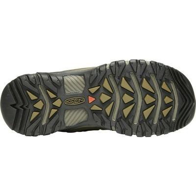 Shoes Keen VENTURE WP Men black/vibrant yell, Keen