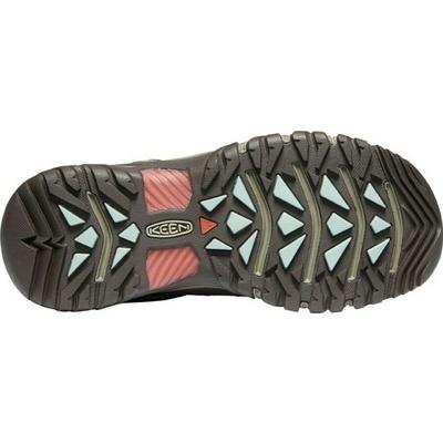 Shoes Keen TARGHEE III Mid WP women bungee cord/redwood, Keen